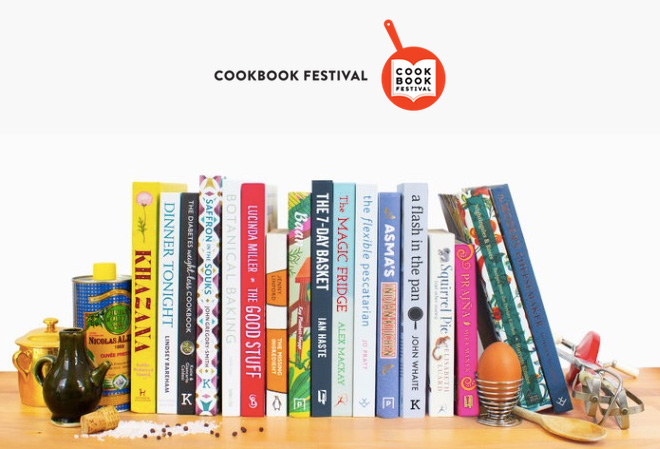 Cookbook Festival, Chiswick 2019