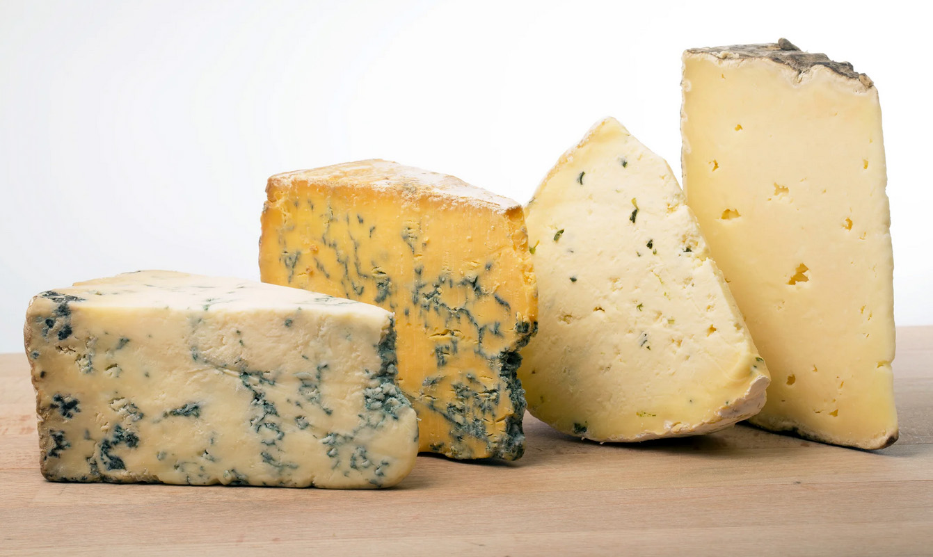 Article about cheeses in The New Yorker