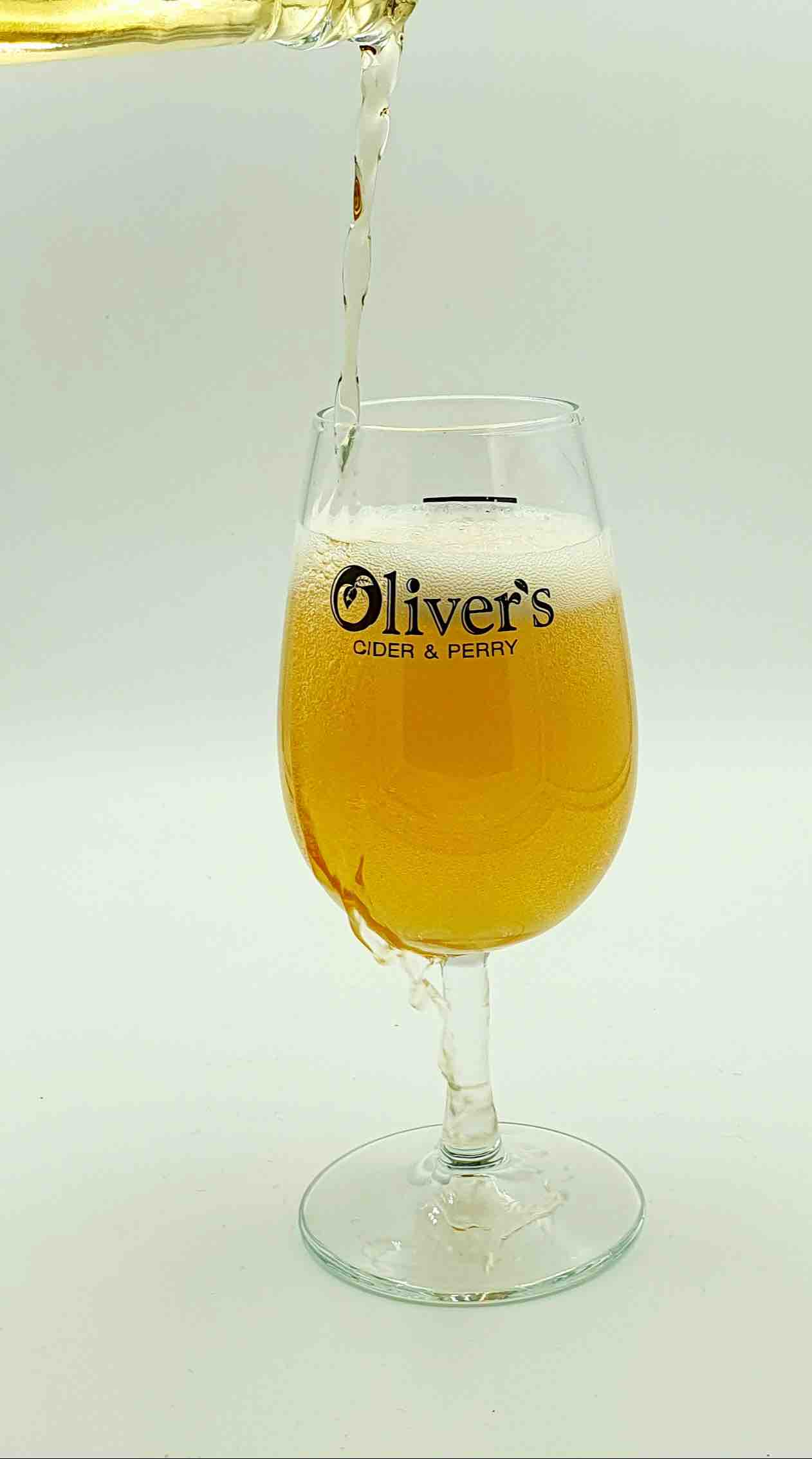 Glass of Oliver's Cider