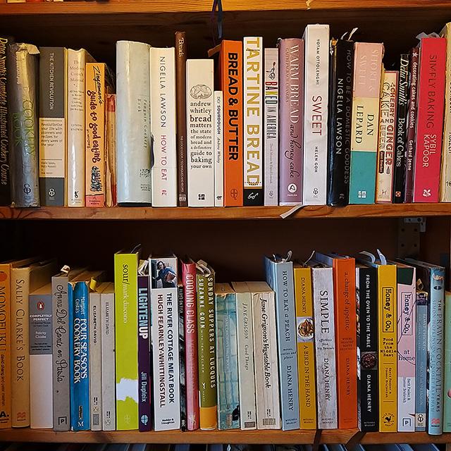 #7favouritecookbooks