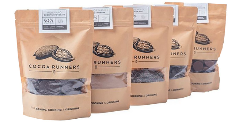 Cocoa Runners Chocolate
