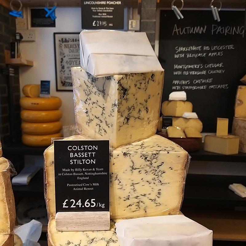 Neal's yard Dairy - Stilton Cheese