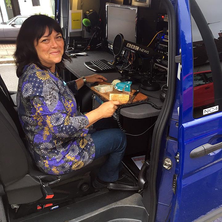 Jenny Linford in BBC Radio Car